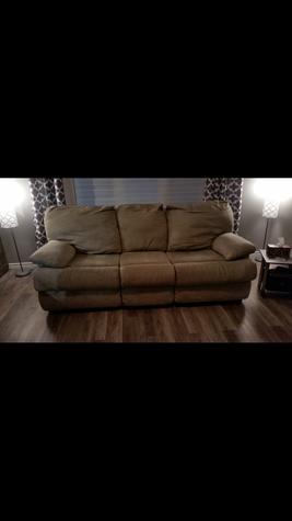 Big sofa good shape make offer