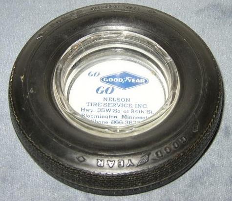 Vintage, Goodyear Tire Ashtray