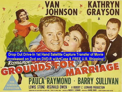 """""""Grounds For Marriage"""" (1951){DVD-R}"""