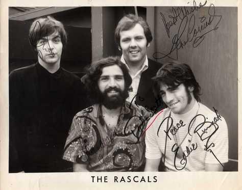 Rascals 60's autographs, original