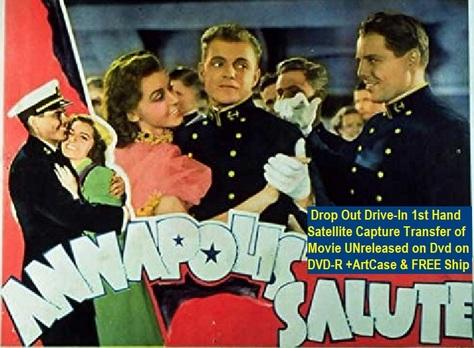 """Annapolis Salute"" (1937){DVD-R}"