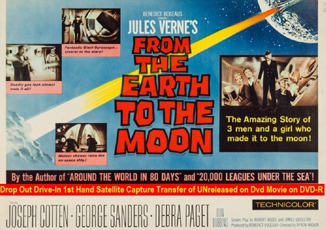 """From Earth to the Moon"" (1958){DVD-R}"
