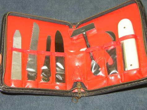 Vintage, 7-Pc Stainless Tool Kit