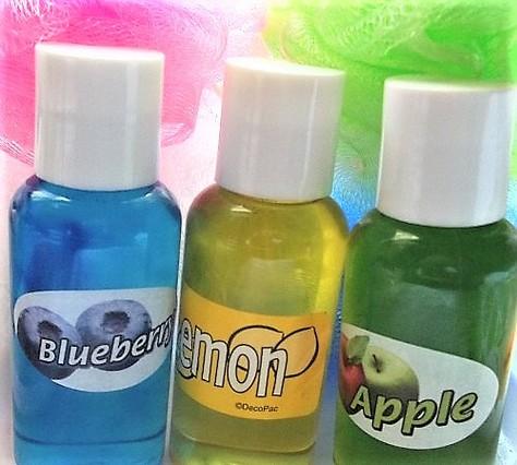 shower gels. set of 3