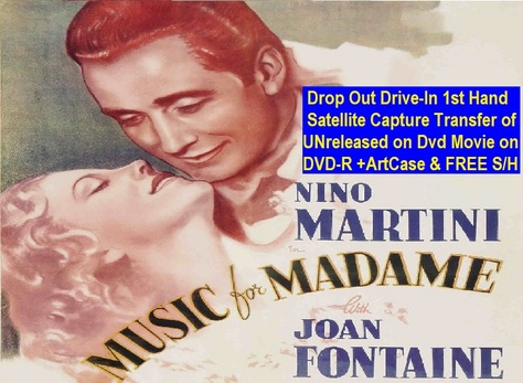 """Music For Madame"" (1937){DVD-R}"