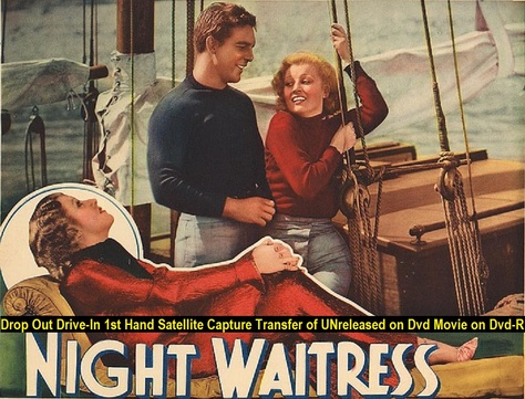 """Night Waitress"" (1936){DVD-R}"
