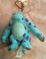 """Sully"" from Monster, INC. Keychain Purse Charm"