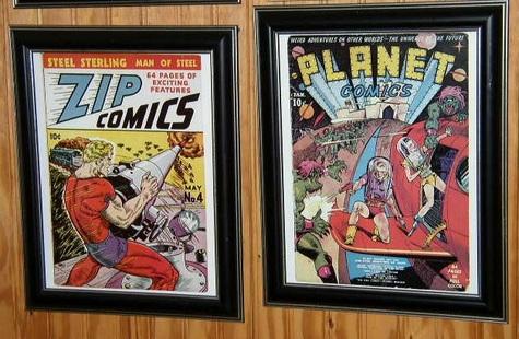 #1 Zip & #2 Planet Comics
