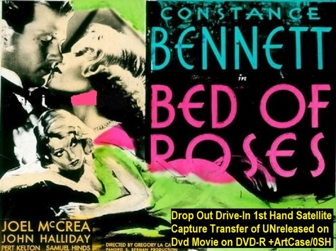 """""""Bed of Roses"""" (1933){DVD-R}"""