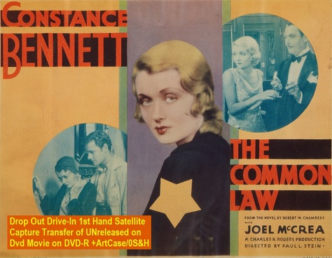 """The Common Law"" (1931){DVD-R}"