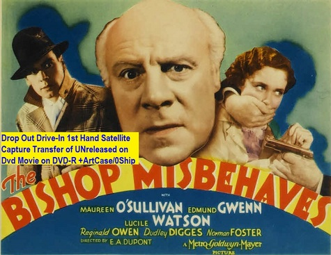 """The Bishop Misbehaves"" (1935){DVD-R}"