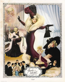 autographed Mae West