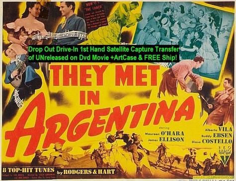 """They Met in Argentina"" (1941){DVD-R}"