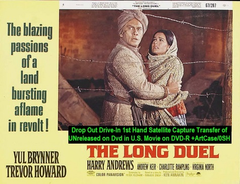 """""""The Long Duel"""" (1967){DVD-R}"""