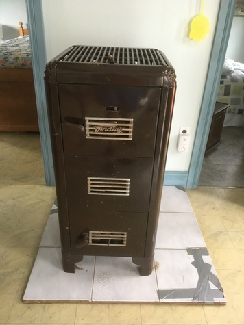 Quebec Heater wood and coal burning