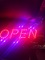 Open Sign - Led, with on/off switch, brand new