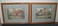 Pair of Framed, Cottage Pics