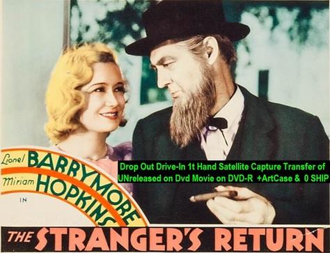 """""""The Stranger's Return"""" (1933){DVD-R}"""