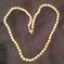 Faux Pearl Single Knotted Strand Necklace