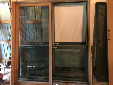 Marvin Patio Doors with screens