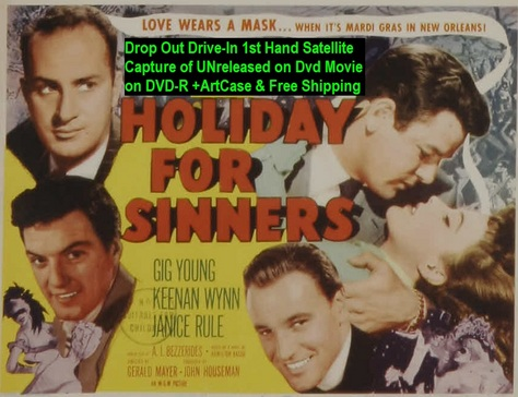 """""""Holiday For Sinners"""" (1952){DVD-R}"""