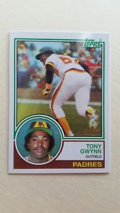 2016 Topps Berger's Best #BB-32 Tony Gwynn San Diego Padres Rookie Reprint