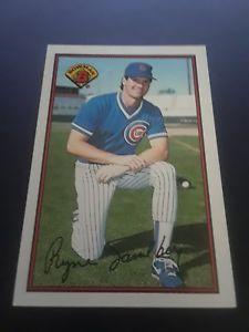 1989 Bowman Baseball Card #290 Ryne Sandberg
