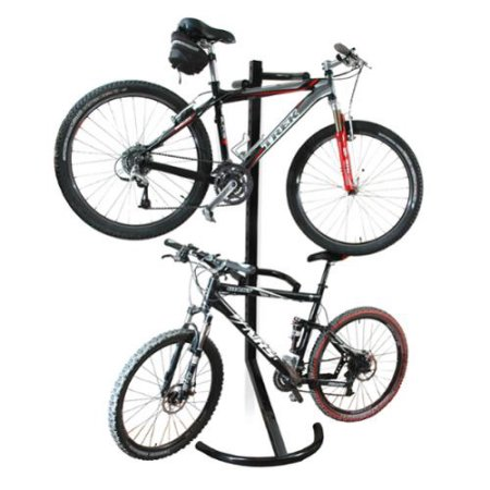Space saver bike rack