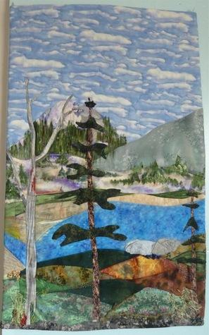 Abraham Lake, Fibre Art
