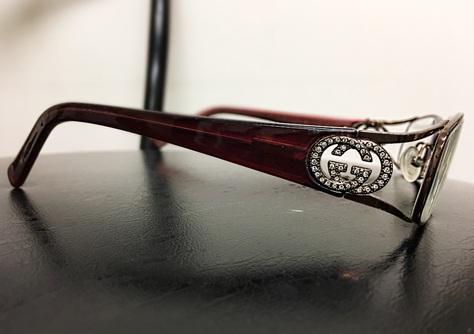 Jewelled Gucci Frame