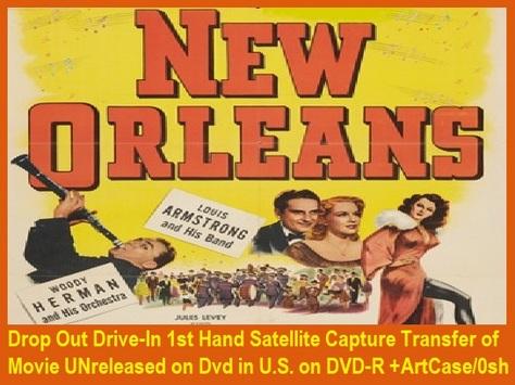 """New Orleans"" (1947){DVD-R}"
