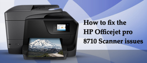 Complete the HP OfficeJet Pro 8710 Printer Setup and Execute the troubleshooting tips that are available on our webpage to overc