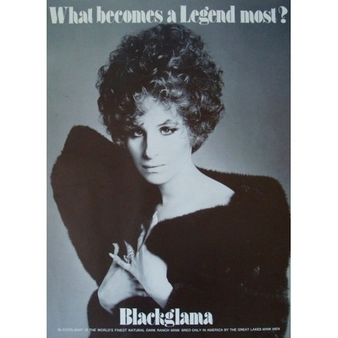 Blackglama Streisand