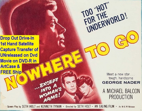 """Nowhere to Go"" (1958){DVD-R}"