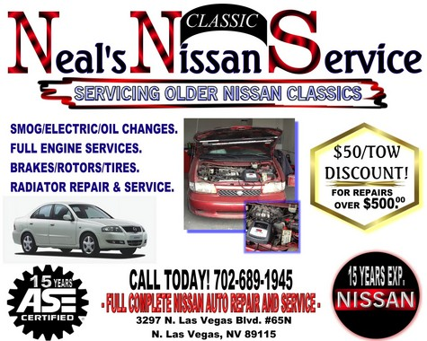 FAST LIGHTENING NISSAN CAR AND TRUCK AUTO SERVICE