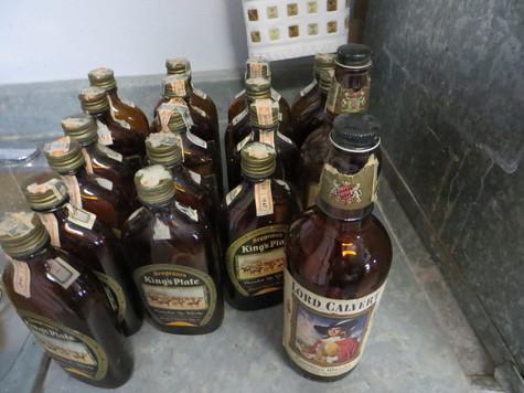 Antique Whiskey Bottles