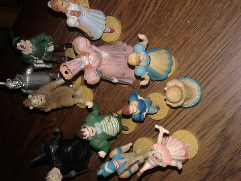 Wizard of Oz figures