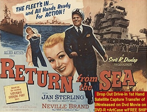 """Return From the Sea"" (1954){DVD-R}"