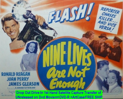 """""""Nine Lives Are Not Enough"""" (1941){DVD-R}"""