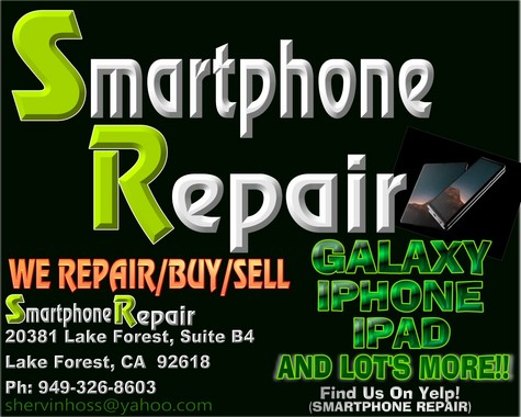 SMARTPHONE REPAIRS***IPADS, IPHONES AND MORE