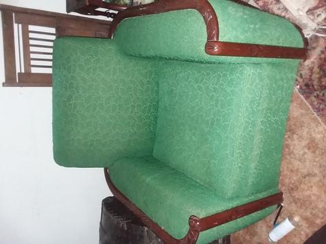 VINTAGE cigar chair