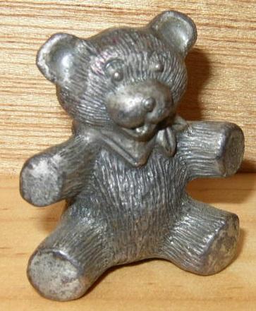 Pewter, Teddy Bear