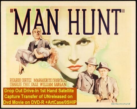 """Man Hunt"" (1936){DVD-R}"