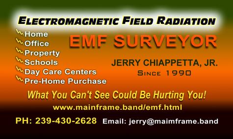 EMF Surveyor Jerry Chiappetta, Jr.