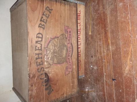 Vintage Crate with Original lid