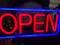 Non Neon Open Sign, Brand New In The Box