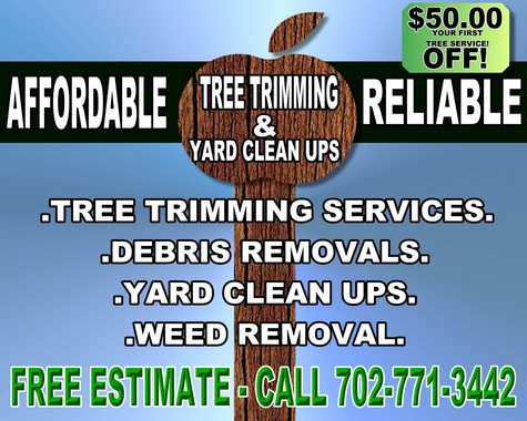 TREE TRIMMING AND LAWN CARE SERVICES