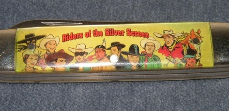 """Camillus - Riders of the Silver Screen - Collector Series Character Knife """"Little Beaver"""""""