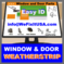 Weather Strip Door Window Weatherstripping Seals