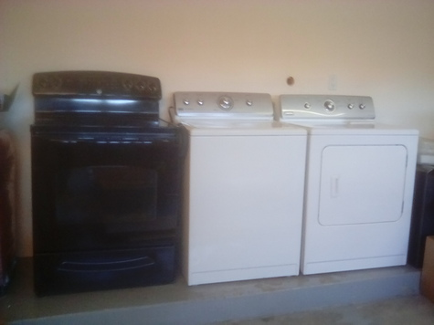 Oven,washer,dryer